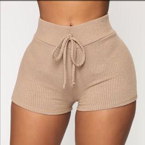 Wanderlust shorts - Mocha